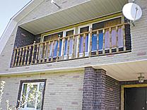 Отделка фасадов зданий облицовочными панелями.